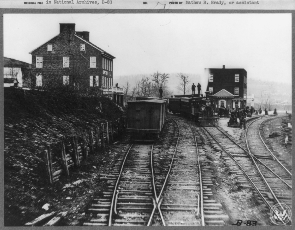 Hanover Junction Railroad Yards, 1863