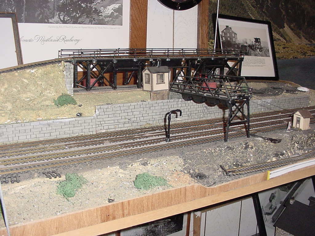 Model of Pennsylvania Railroad coal yard