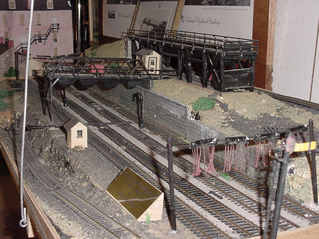 Model of Pennsylvania Railroad coal yard.