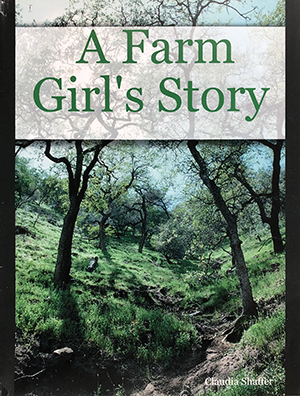 Cover of A Farm Girl's Story by Claudia Shaffer.