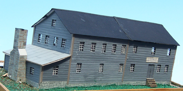 Model of H.I Gladfelter Cigar Manufacturing building