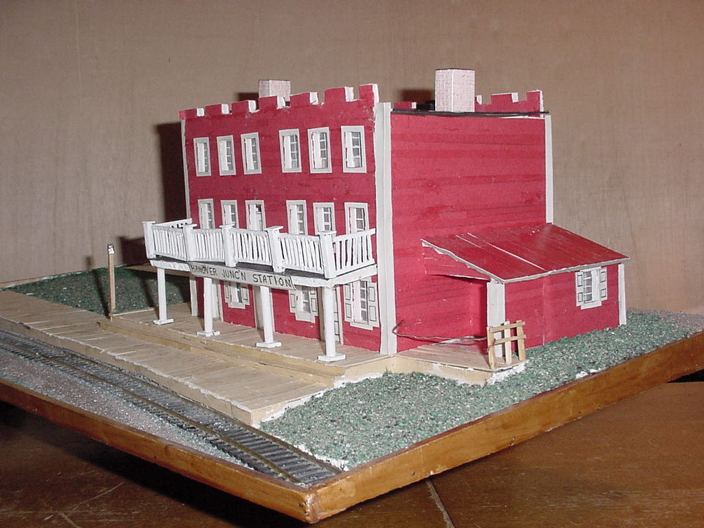 Model of restored Hanover Junction Station.