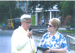 Roger Shaffer being interviewed by Sandra L. Prueitt